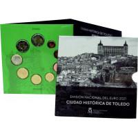 Ispanija 2021 Euro monetų BU rinkinys