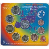 Ispanija 2006 Euro Monetų BU Rinkinys