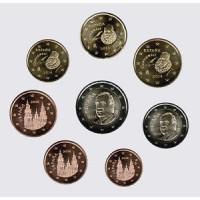 Ispanija 2014 Euro monetų UNC rinkinys