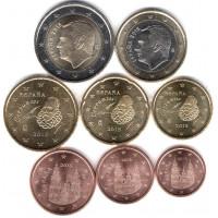 Ispanija 2015 Euro monetų UNC rinkinys