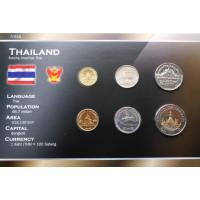 Tailandas 2001-2009 metų monetų rinkinys lankstinuke