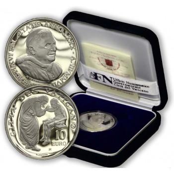 Vatikanas 2007 10 eurų Pasaulinė misijos diena