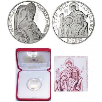 Vatikanas 2008 10 eurų 41-oji Pasaulinė taikos diena