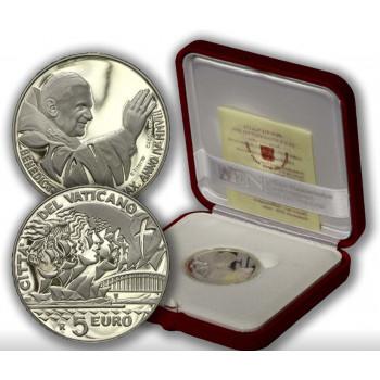 Vatikanas 2008 5 eurai 23-oji Pasaulinė jaunimo diena - Sidnėjus
