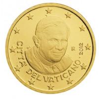 Vatikanas 2012 50 centų