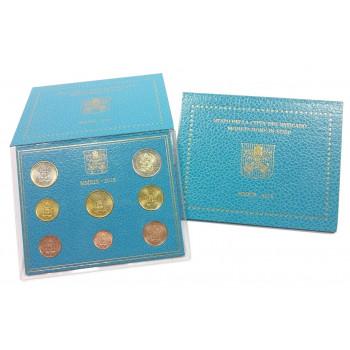 Vatikanas 2018 Euro monetų BU rinkinys