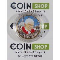 Vatikanas 2011 50 centų SPALVOTA