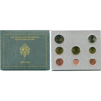 Vatikanas 2006 Euro monetų BU rinkinys Benediktas XVI