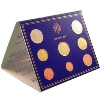Vatikanas 2007 Euro monetų BU rinkinys Benediktas XVI