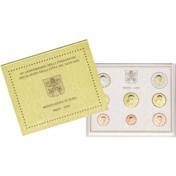 Vatikanas 2009 Euro monetų BU rinkinys Benediktas XVI