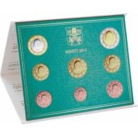 Vatikanas 2013 Euro monetų BU rinkinys Benediktas XVI