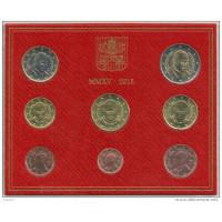 Vatikanas 2015 Euro Monetų BU Rinkinys Pranciškus