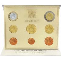 Vatikanas 2017 Euro monetų BU rinkinys Sede Vacante