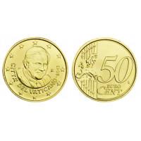 Vatikanas 2013 50 centų