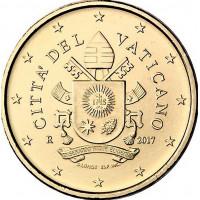 Vatikanas 2017 50 centų