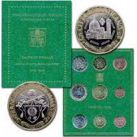 Vatikanas 2018 Euro monetų BU rinkinys su progine 5 eurų moneta