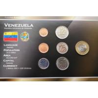 Venesuela 2007 metų monetų rinkinys lankstinuke