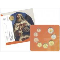 San Marinas 2016 Euro monetų BU rinkinys