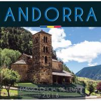 Andora 2018 Euro monetų BU rinkinys
