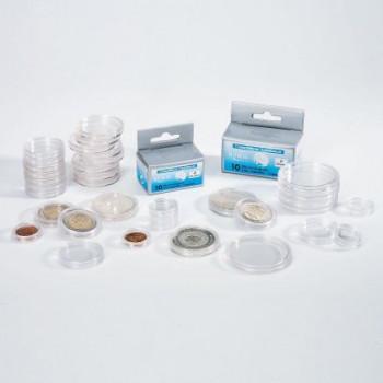 Leuchtturm plastikinės kapsulės 26mm dviejų eurų monetoms
