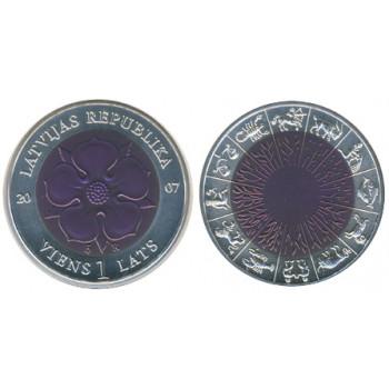 Latvija 2007 Laiko moneta II