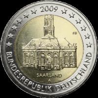 Vokietija 2009 Saro kraštas (bet kuri atsitiktinė raidė)