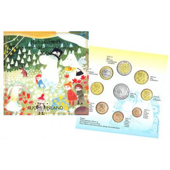 Suomija 2004 Euro monetų BU rinkinys su progine moneta