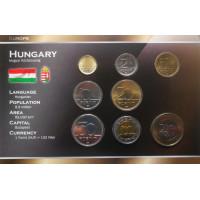 Vengrija 1994-2010 metų monetų rinkinys lankstinuke