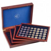 Leuchtturm prezentacinė dežė Volterra Quattro de Luxe 24 euro monetų rinkiniams kapsulėse