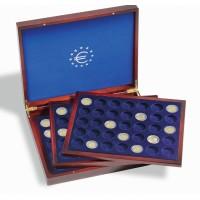 Leuchtturm prezentacinė dežė Volterra Trio de Luxe 2 eurų monetoms kapsulėse