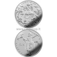 Lietuva 2019 1.5 euro Užgavėnės