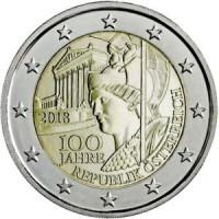 Austrija 2018 Austrijos Respublikos 100-osios metinės