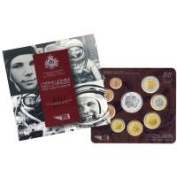 San Marinas 2011 Euro monetų BU rinkinys su sidabrine 5 eurų moneta