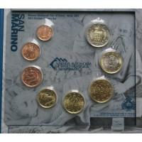 San Marinas 2012 Euro monetų BU rinkinys