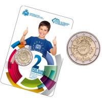 San Marinas 2012 Eurų banknotų ir monetų dešimtmetis