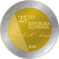 Slovėnija 2016 Nepriklausomybės 25-metis