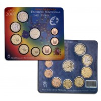 Ispanija 2007 Euro Monetų BU Rinkinys + TOR proginė Moneta