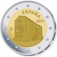 Ispanija 2017 Oviedo paminklas - Astūrijos Karalystė