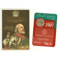 San Marinas 2007 200-osios Giuseppe Garibaldi gimimo metinės