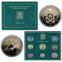Vatikanas 2018 Euro monetų BU rinkinys Sede Vacante