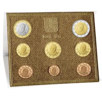Vatikanas 2011 Euro monetų BU rinkinys Benediktas XVI