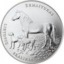 Lietuva 2017 1.5 euro Lietuvių skalikui ir žemaitukui