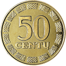 Lithuania 1997 50 cent