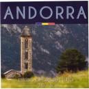 Andora 2016 Euro monetų BU rinkinys