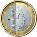 Liuksemburgas 1 euras 2002